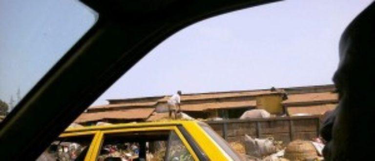 Article : Dans la peau d'un chauffeur de taxi de Conakry