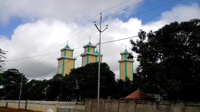 Mosquée de Pounthioun - crédit photo Alimou Sow