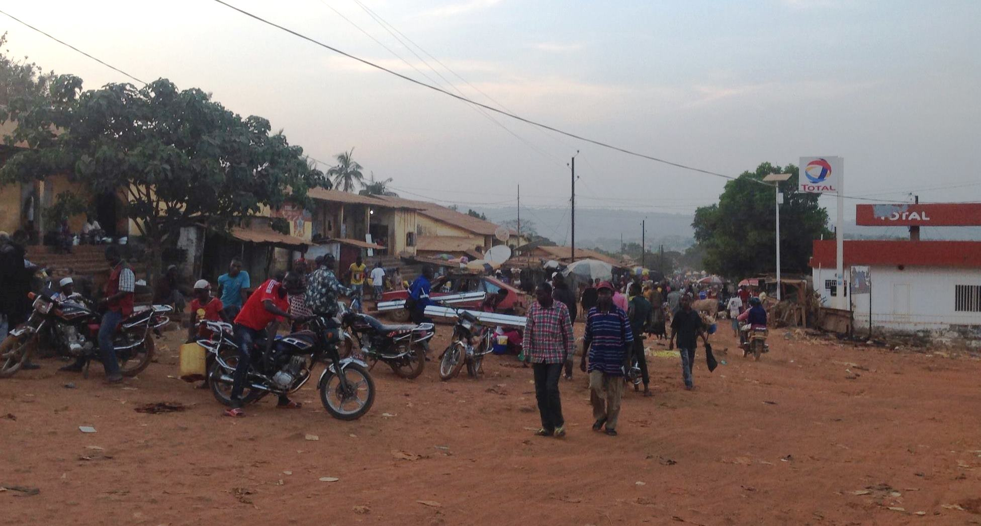 Une rue de Télimélé - Crédit image : Nouhou Baldé