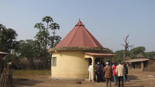 Case de naissance de Sékou Touré, à Sidakoro - crédit photo: Alimou Sow