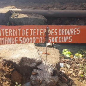 Lectures déambulatoires dans les rues de Conakry