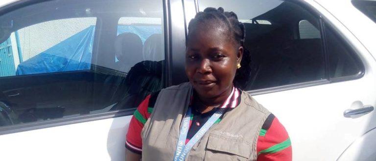 Article : Ces femmes au «métier d'homme» : Jeannette Haba, chauffeur professionnel