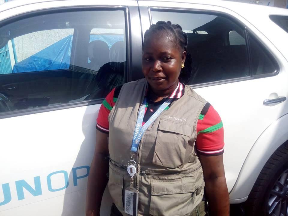 Ces femmes au «métier d'homme» : Jeannette Haba, chauffeur professionnel