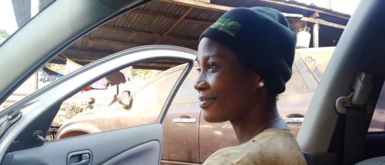 Article : Ces femmes au «métier d'homme» : Solange Bamba, mécanicienne