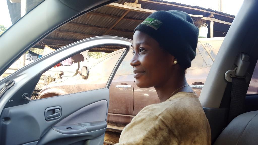 Ces femmes au «métier d'homme» : Solange Bamba, mécanicienne
