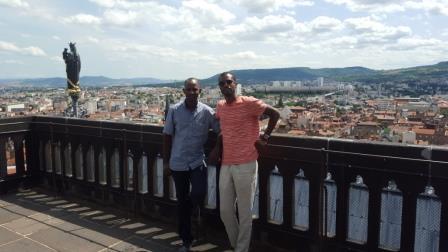 Vue sur Clermont-Ferrand - crédit photo: Alimou Sow
